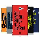 HEAD CASE DESIGNS POWER STATEMENT HARD BACK CASE FOR SONY XPERIA M2