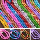 Wholesale 8mm 10mm 12mm Round Crystal Glass Loose Spacer Beads Jewelry Making