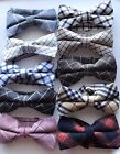 MENS Adult Man Party Check Cocktail Formal Wedding bow tie Necktie bowtie