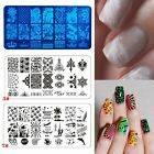 DIY Nail Art Template Exquisite Image Plates Polish Stamping Nail Tip Accessory