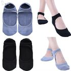 1 Pair Women Sports Massage Yoga Pilates Ballet Socks Grip Cotton Non Slip Skid