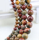 4/6/8/10/12mm Natural Charm Round Gemstone Loose Spacer Stone Beads Jewelry