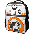 "BB-8 STAR WARS 16"" Full Size Backpack w  Lights & Sound w  Optional Lunch Box"