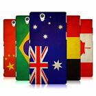 HEAD CASE DESIGNS VINTAGE FLAGS HARD BACK CASE FOR SONY XPERIA Z