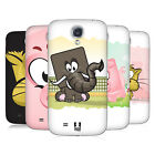 HEAD CASE DESIGNS SQUARE FACE ANIMALS BATTERY COVER FOR SAMSUNG GALAXY S4