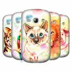 HEAD CASE DESIGNS WATERCOLOURED ANIMALS BACK CASE FOR SAMSUNG GALAXY FAME S6810
