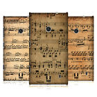 HEAD CASE DESIGNS MUSIC SHEETS HARD BACK CASE FOR NOKIA LUMIA 520 / 525