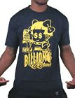 Dissizit Mens Navy Over A Billion Served Drive Up Fastfood T-Shirt SST12-473 NWT