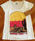 AUTHENTIC True Religion T Shirt Women's RELAXED SUMMER TOUR White Size XS