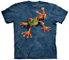 Victory Frog Peace Out Sign Adult T-Shirt Tee