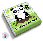 Personalised PANDA 8th 9th 10th 11th 12th Birthday Party Bag  Favour Chocolates
