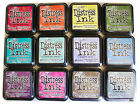 Lot 12 - Series 1  2  3  4  OR 5  Distress Ink Pads Ranger - Full Size-5 Choices