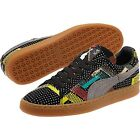 Puma 68 Suede BLACK HISTORY MONTH Colorful Grey Grn Red Yellow Mns Shoes NEW HTF