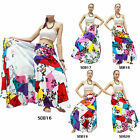 Skirt SDB16-20 Cotton Thailand Patchwork Long Wrap Sarong Boho Gypsy Hippie Sun