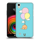 HEAD CASE DESIGNS KAWAII ELEPHANT HARD BACK CASE FOR LG PHONES 2