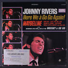 JOHNNY RIVERS: Here We A Go Go Again LP (drill hole, library toc, minor cover w