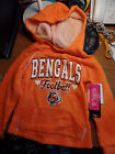 Cincinnati Bengals 5th & Ocean NFL Youth Raglan Hoodie Girls Hooded Sweatshirt $12.99 USD on eBay