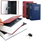 Newest Home Security Dictionary Book Safe Storage Key Lock Box for Cash Jewelry