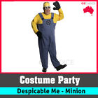 Men Minion Adult Costume Despicable Me Fancy Party Dress Up Halloween