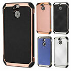 For Sprint HTC BOLT IMPACT HYBRID Plating Case Skin Phone Cover + Screen Guard