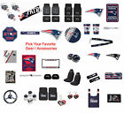 automotive emblems - New England Patriots Pick Your Gear / Automotive Accessories Official Licensed
