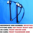 1996-2005 PASSAT B5 OSF FRONT RIGHT UK  DRIVER WINDOW REGULATOR