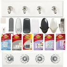 3M Command Damage-Free Picture Jewellery Key Balloon Hanging Hooks & Clips