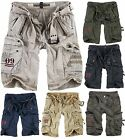 SURPLUS RAW VINTAGE ROYAL PREMIUM CARGO SHORT BERMUDA KURZE HOSE ARMY SHORTS NEU