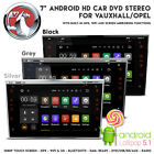 "7"" HD Android GPS Bluetooth WiFi USB SD Car Stereo + Screen Mirror For Vauxhall"