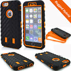 3 in 1 High Impact Rugged Combo Defender Tyre Armor Case for iPhone 7 6S Plus 5S