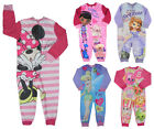 Girls All in Ones Various Chracters Great Price Micro Fleece 1.5y up to 7-8y