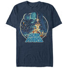 Star Wars Vintage Victory T-Shirt Blue $28.98 USD on eBay
