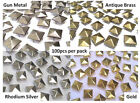 600 x Pyramid, Punk, Rock, Leather Bag Shoe Studs CRAFT Biker Fashion Goth