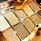 Cosmetic Pro 10 Color Baked Eyeshadow Palette Shimmer Metallic Eyes Makeup JTOO
