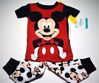 New Disney Mickey Mouse baby toddler boys pajamas 9m 12m 18m 24m