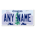 Personalized Oregon License Plate for Bicycles, Kid's Bikes & Cars Ver 1
