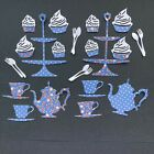 Afternoon Tea Set Die Cuts - Cardmaking, Scrapbooking, Crafting,14 piece set x2