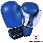 MAXSTRENGTH® Boxing Gloves Kick Punch Bag Muay Thai UFC Fight Training Mitts MMA