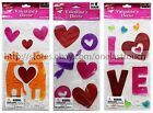 IMPACT INNOVATIONS* Home Decor VALENTINE'S DAY Window Clings NEW! *YOU CHOOSE*