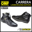 IC/784 OMP CARRERA LAMBORGHINI LEATHER RACE BOOTS VINTAGE STYLE CLASSIC RACING