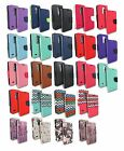 FOR LG ARISTO MS210 LV3 FLIP JACKET WALLET POUCH CASE CARD SLOT COVER+STYLUS