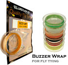 Buzzer WRAP for Fly Tying - Great for Tying Buzzers Nymphs Wet Flies Fly Fishing