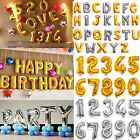 "16""/42"" INCH Large Foil Letter Number Balloons Birthday Wedding Party Decoration"