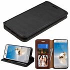 For LG Aristo LV3 Leather Wallet Phone Case Stand Credit Card Cover
