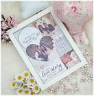 Personalised Photo Frame*Wedding*Engagement*Couple*Keepsake*Gift*Present*Home