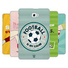 HEAD CASE DESIGNS FOOTBALL STATEMENTS HARD BACK CASE FOR SAMSUNG TABLETS 1