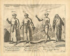 Antique Print-EAST-INDIES-INDIAN MERCHANT-CAMBODJA-BRAHMIN-Linschoten-1638