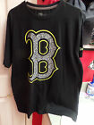 Boston Red Sox MLB New Era Notebook Tee Shirt Black Fashion Men's XL Top BoSox B
