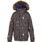 NEW 140 BURTON KIDS/GIRLS/YOUTH SNOWBOARD/SKI TWIST BOMBER JACKET