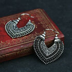 Women's Vintage Bronze Silver Retro Long Earrings Drop Dangle Jewellery Hot